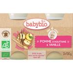 Bio pommes vanille pas cher
