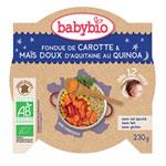 Mon p'tit plat fondue de petits légumes au quinoa pas cher