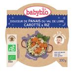 Bonne nuit douceur de panais et carotte-riz pas cher