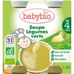 Bio baby soup légumes verts 20 cl dès 4 mois pas cher