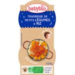Bio bonne nuit tendresse de petits légumes riz 200 g dès 12 mois pas cher