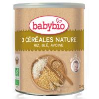 Trois céréales nature
