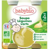 Bio baby soup légumes verts 20 cl dès 4 mois