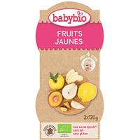 Bio mes fruits fruits jaunes 120 g dès 4 mois
