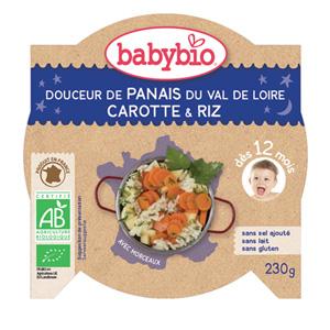 Bonne nuit douceur de panais et carotte-riz