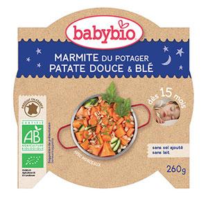 Bonne nuit marmite du potager patates douce blé