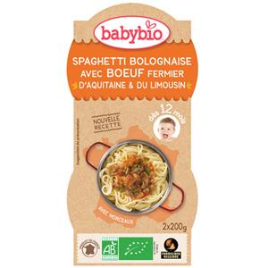 Spaghetti bolognaise au parmesan