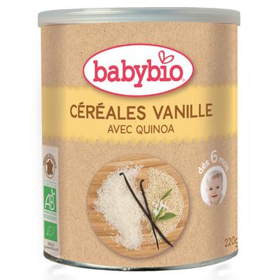 Bio céréale vanille Babybio
