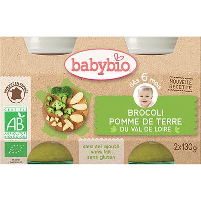 Bio brocoli pomme de terre Babybio