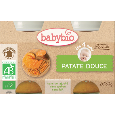 Bio patate douce Babybio