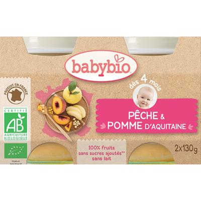 Bio pêche pomme Babybio