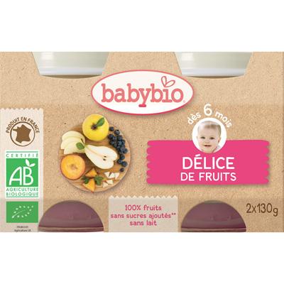 Bio délice de fruits Babybio