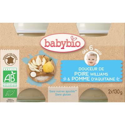 Bio crème aux fruits poire Babybio