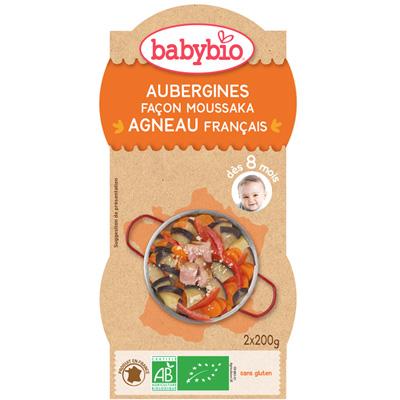 Moussaka d'agneau au parmesan Babybio