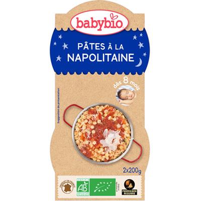 Bonne nuit pâtes à la napolitaine au parmesan 200 g dès 8 mois Babybio