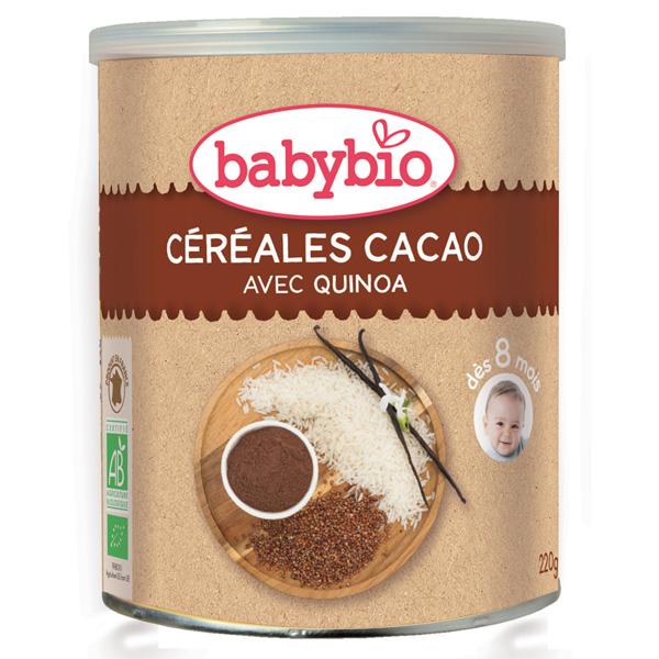 Bio céréale cacao Babybio