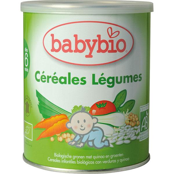 Bio céréale légumes avec quinoa Babybio