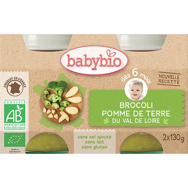 Bio brocoli carottes Babybio