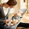 Transat bébé balance soft maille filet 3d argent blanc Babybjorn