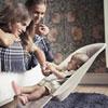 Transat bébé balance soft beige et gris Babybjorn
