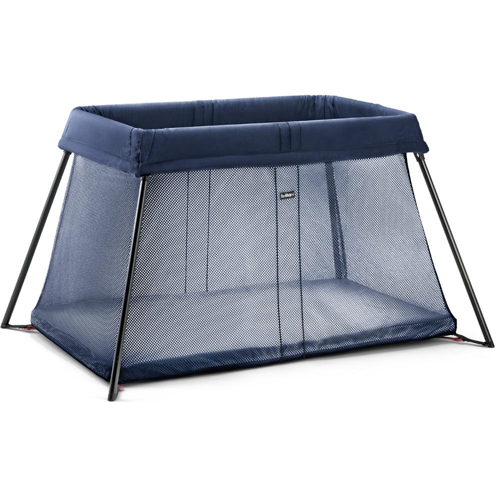 lit parapluie light babybjorn bleu fonc de babybjorn chez naturab b. Black Bedroom Furniture Sets. Home Design Ideas