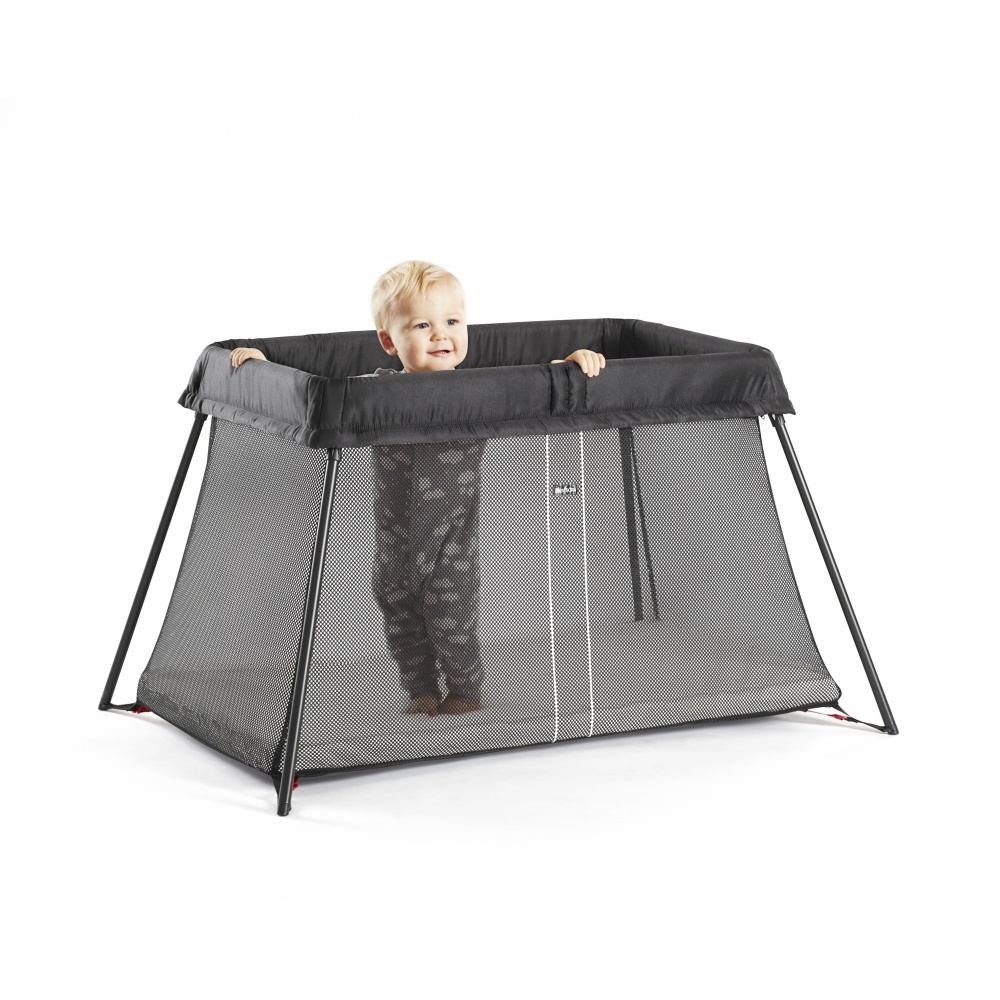 lit parapluie light babybjorn noir mesh de babybjorn. Black Bedroom Furniture Sets. Home Design Ideas