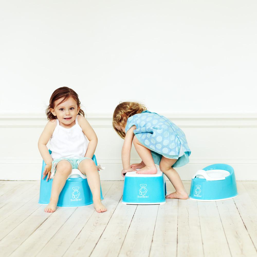 Fauteuil pot b b turquoise de babybjorn sur allob b for Fauteuil auto bebe
