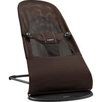 Transat bébé balance soft maille filet 3d brun noir