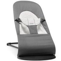 Transat bébé balance soft gris foncé et gris
