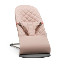 Transat bébé bliss cotton vieux rose