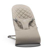 Transat bébé bliss coton gris sable