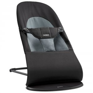 Transat bébé balance soft noir gris foncé