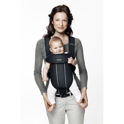 Porte bébé ventral original classic noir Babybjorn