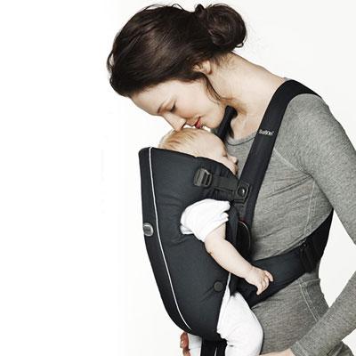 Porte bébé ventral original gris Babybjorn