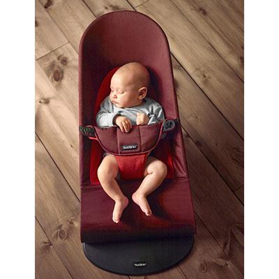 Transat bébé balance soft rouille orange Babybjorn