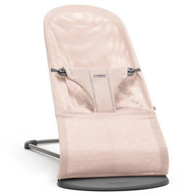 Transat bébé bliss maille filet 3d rose poudré Babybjorn