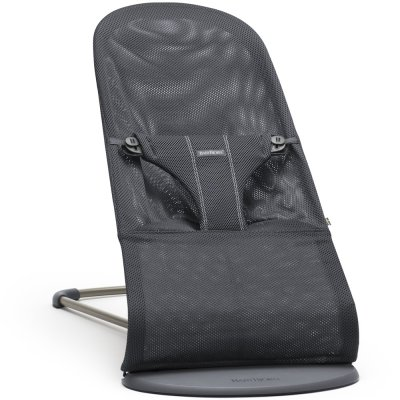 Transat bébé bliss maille filet 3d anthracite Babybjorn