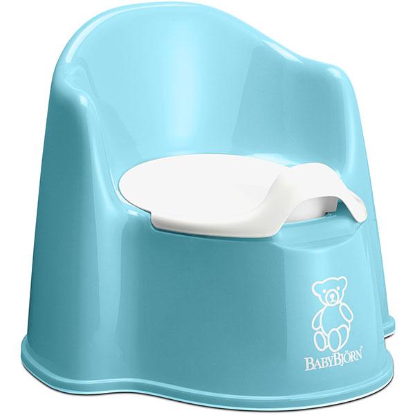 Fauteuil pot bébé turquoise Babybjorn