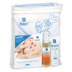 Coffret massage avec cape de bain pour bébé pas cher