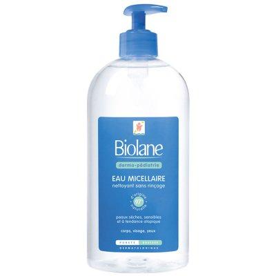 Eau micellaire dermo-pédiatire 500 ml Biolane