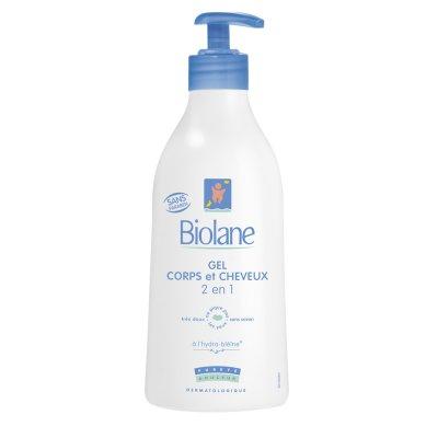 Gel corps et cheveux 2 en 1 350 ml Biolane