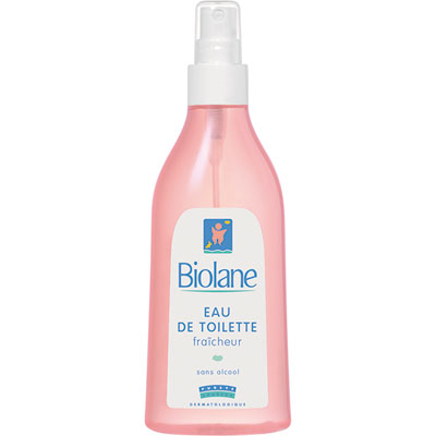 Eau de toilette fraîcheur 200 ml Biolane