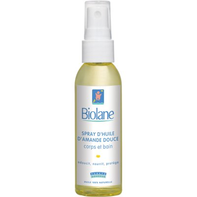 Spray d'huile d'amande douce 75 ml Biolane