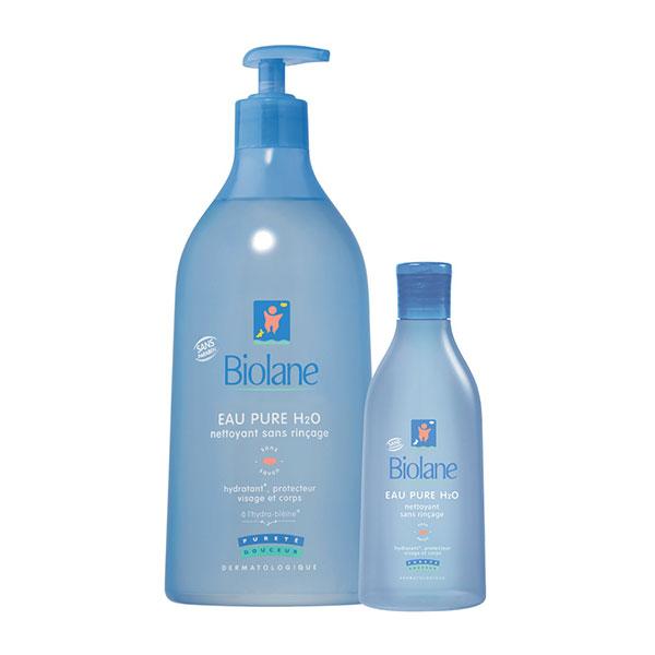 Pack eau pure h2o 750 ml + eau pure h2o 200 ml Biolane
