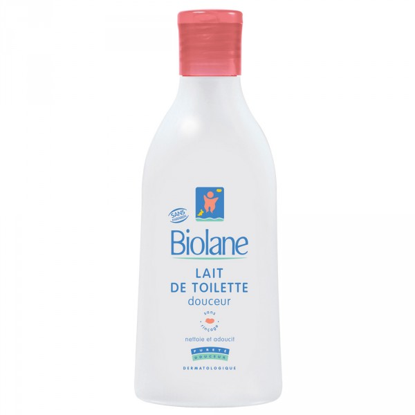 Lait de toilette douceur sans rincage 750 ml Biolane