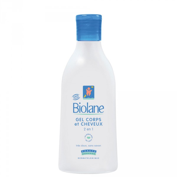 Gel corps et cheveux 2 en1 200ml Biolane