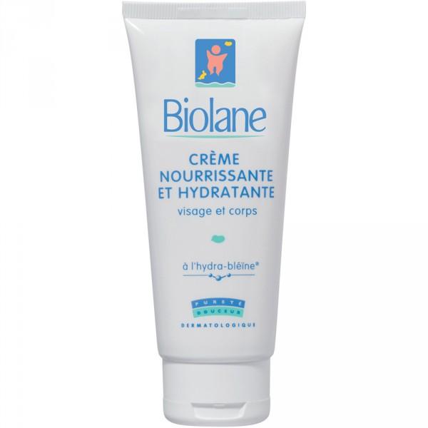 Crème nourrissante et hydratante 100 ml Biolane