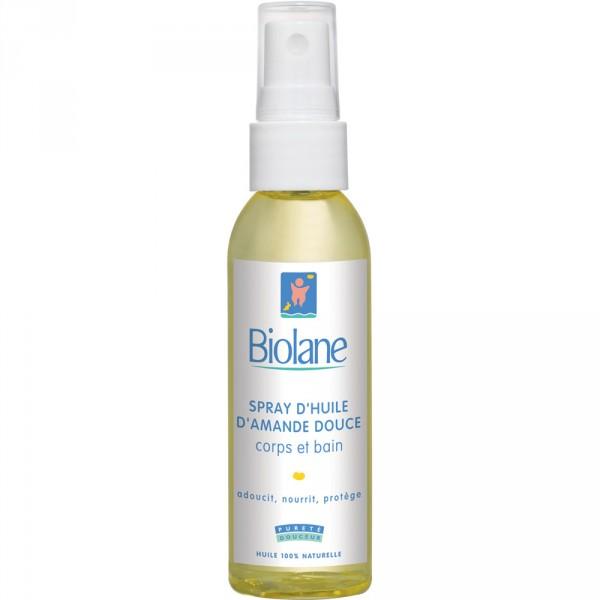 Spray d'huile d'amande douce 75 ml Biolane