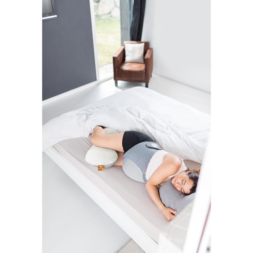 coussin d 39 allaitement et de maternit mum b soft white. Black Bedroom Furniture Sets. Home Design Ideas