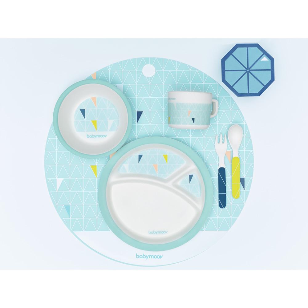 coffret vaisselle bambou de babymoov au meilleur prix sur allob b. Black Bedroom Furniture Sets. Home Design Ideas